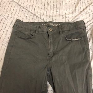 American Eagle Grey Jeggings